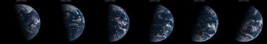Shifting seasons viewed from Himawari-8