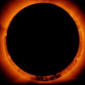 Hinode views an annular solar eclipse, January 4, 2010