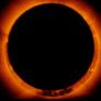 Hinode views an annular solar eclipse, January 4, 2010