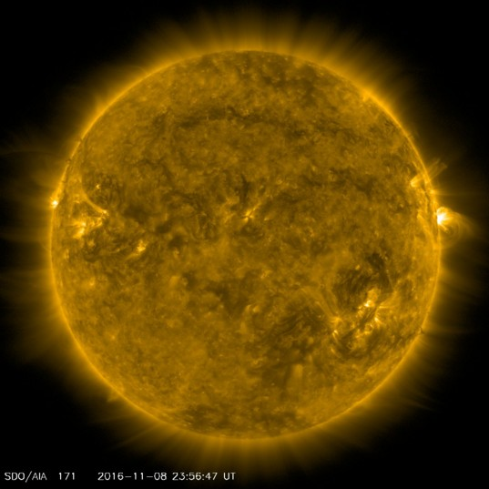 The Sun from SDO, Nov. 8, 2016