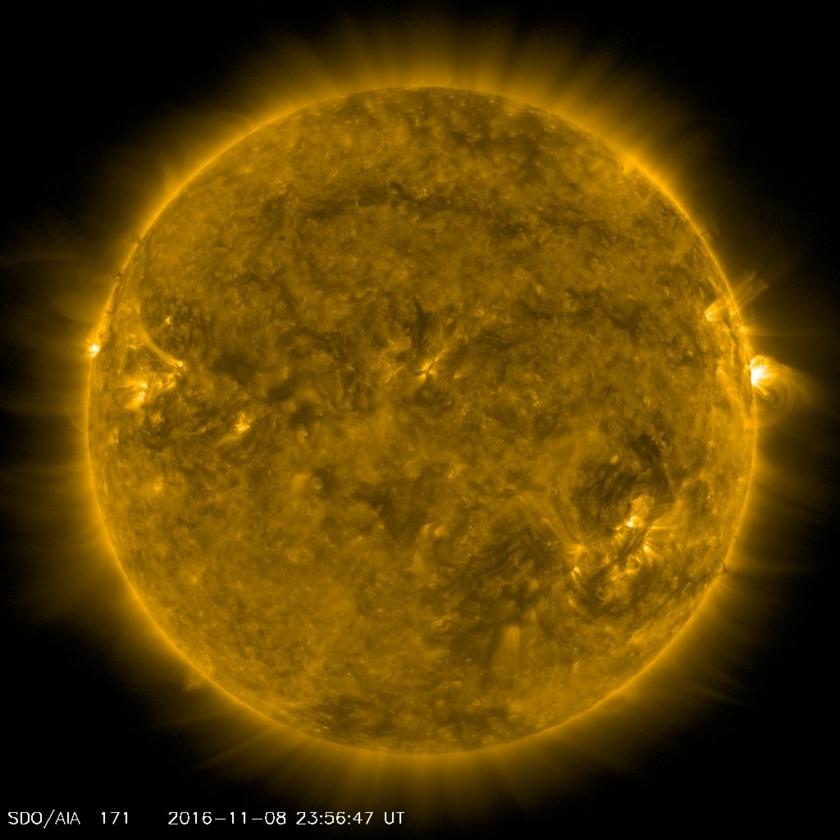 The Sun from SDO, Nov. 8, 2016