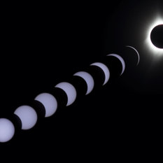 Total Solar Eclipse Montage
