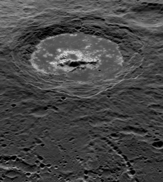 Warhol Crater