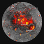 Permanently shadowed, radar-bright regions on Mercury