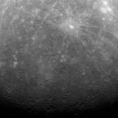 MESSENGER's first image from Mercury orbit
