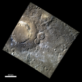 Scarlatti basin on Mercury