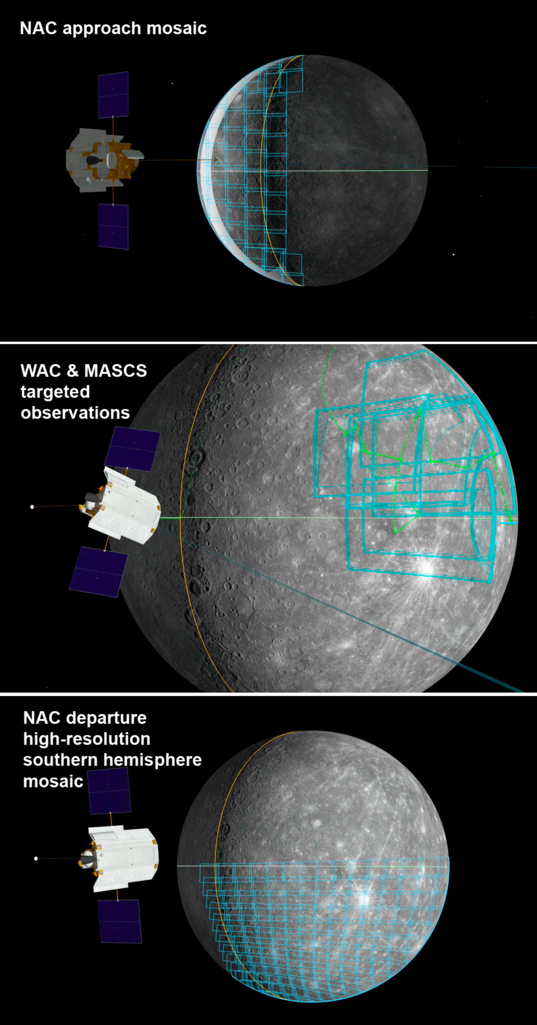 Imaging plans for MESSENGER's third Mercury flyby
