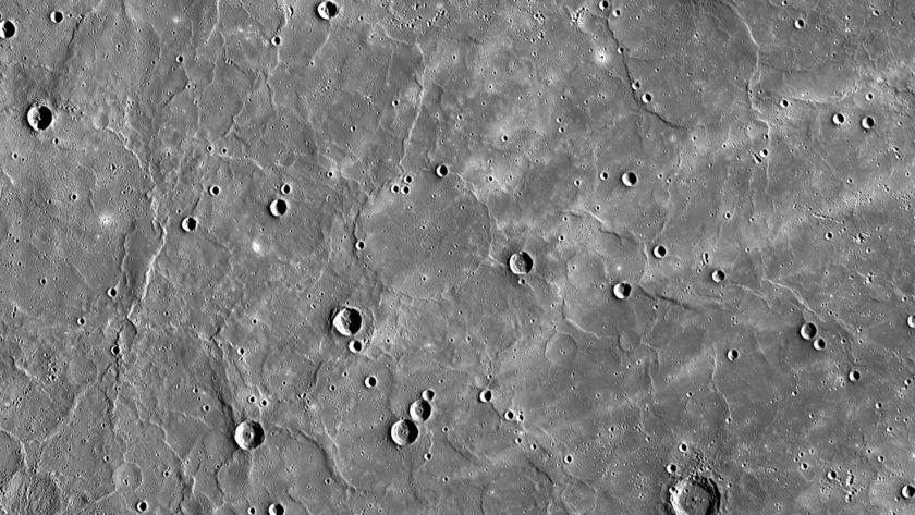 Mercury's northern volcanic plains