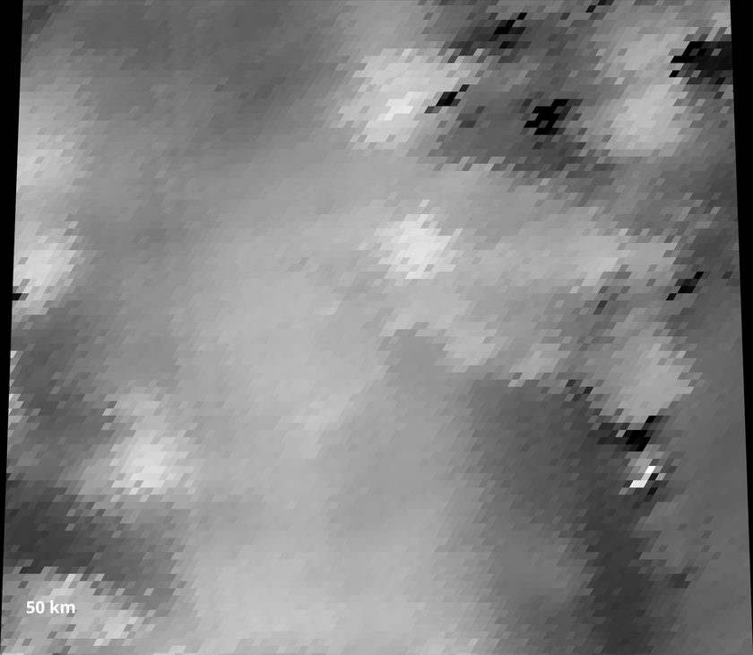 Topographic data for tessera terrain image