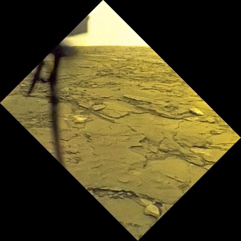 Venera 14 view of the surface of Venus