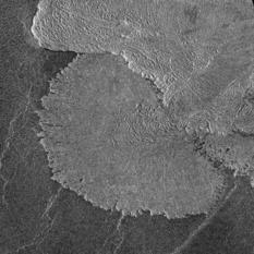 Lava fan, Venus
