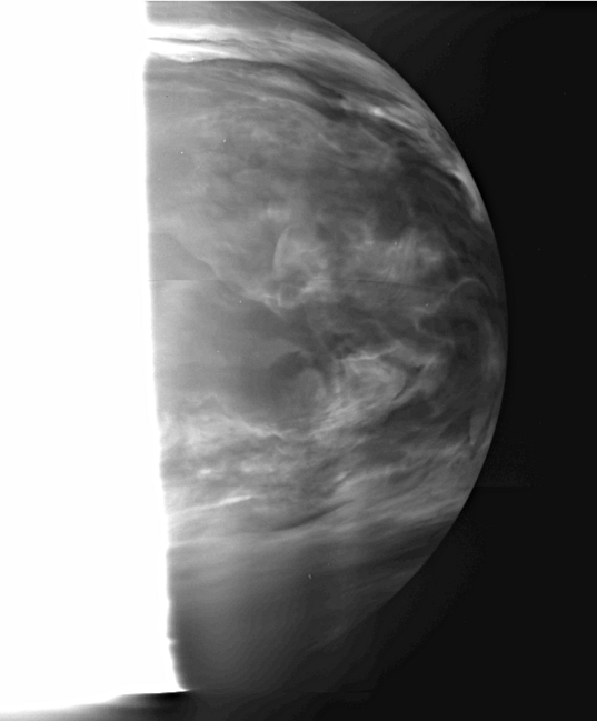 Venus' clouds in the near-infrared