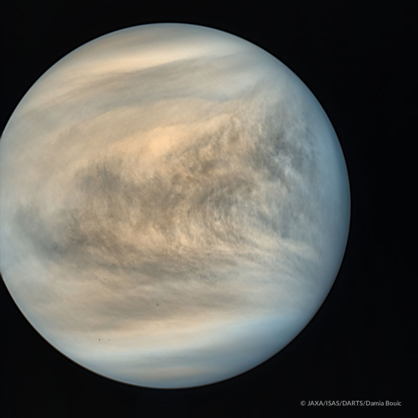 Global view of Venus from Akatsuki