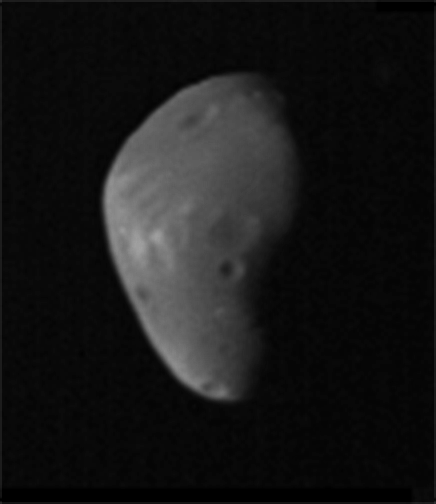 Deimos from Mariner 9
