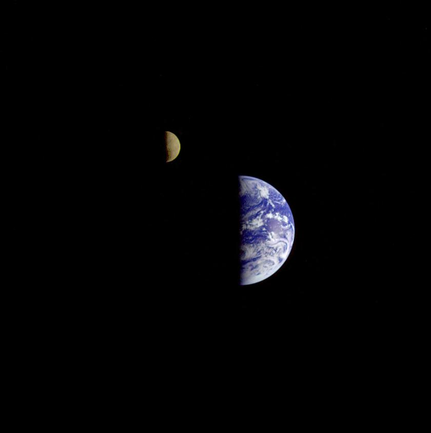 Earth - Moon Conjunction