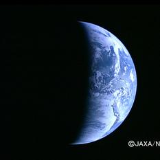 Earth from Kaguya