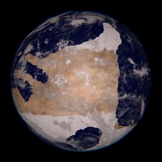 Earth, 660 million years ago
