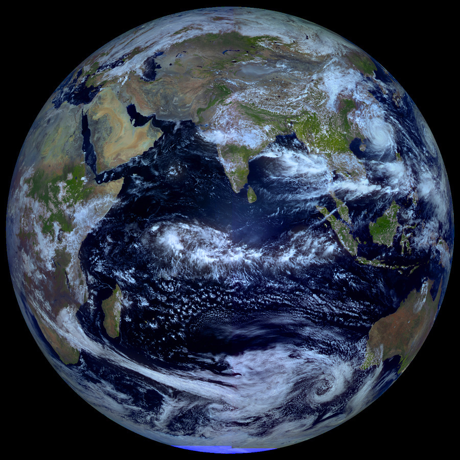Earth From Russias ElektroL Satellite The Planetary Society - World from satellite