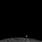 Earthrise from Lunar Reconnaissance Orbiter