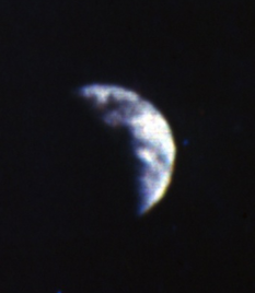 First image of Earth from the surface of the Moon: Surveyor 3