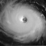 Hurricane Isabel's pentagonal eye