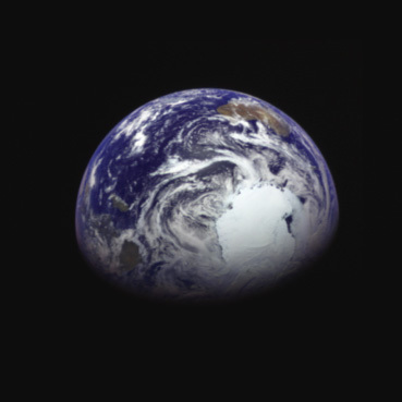 Earth from Hayabusa2