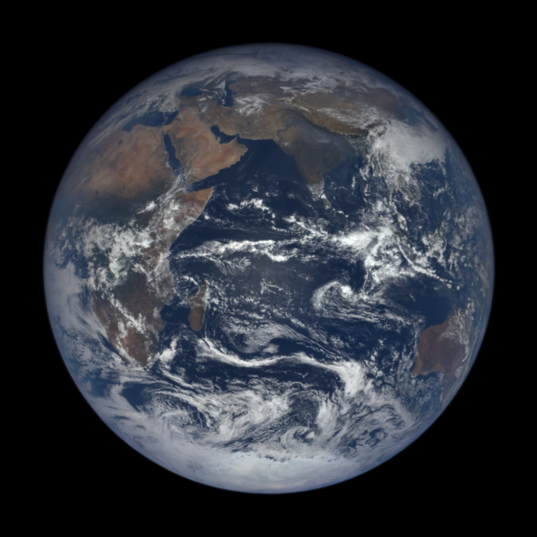 Earth Eastern Hemisphere from DSCOVR, Nov. 8, 2016