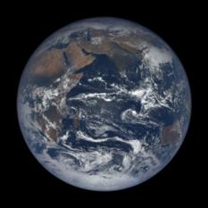 Earth Eastern Hemisphere from DSCOVR, Nov. 8, 2016