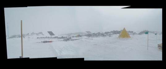 Lower Mount Erebus, Antarctica