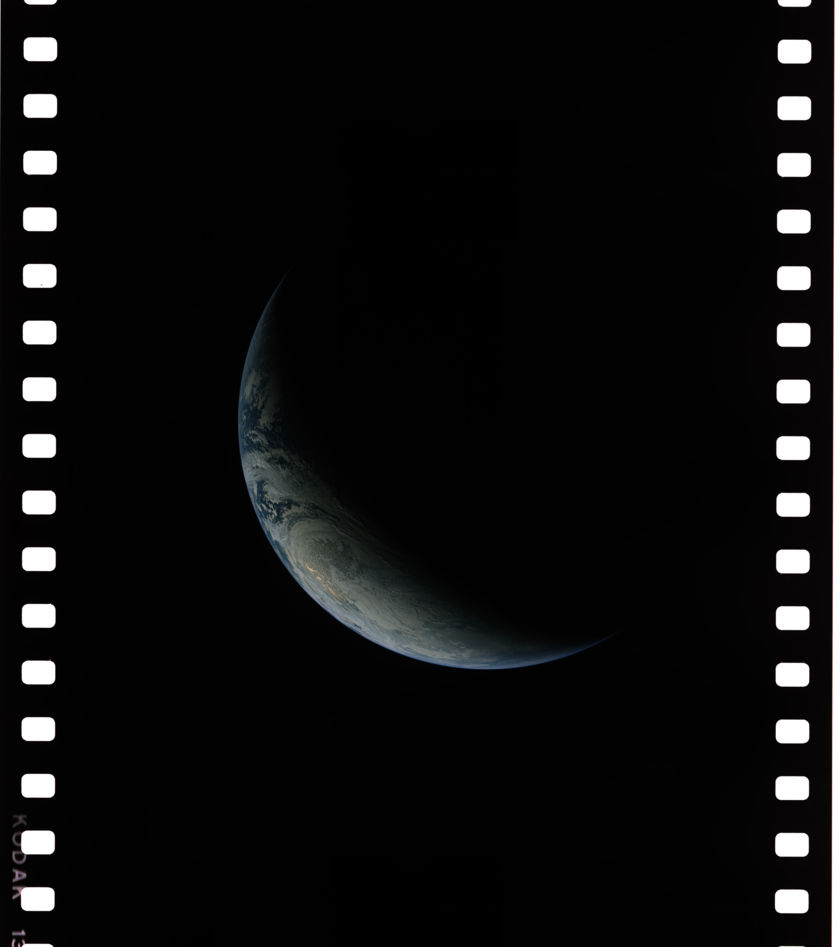 Earth from Apollo 4