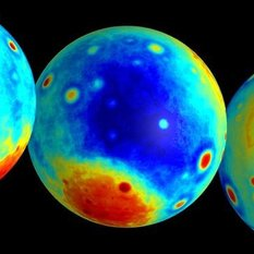 GRAIL's map of the lunar Bouguer gravity anomaly