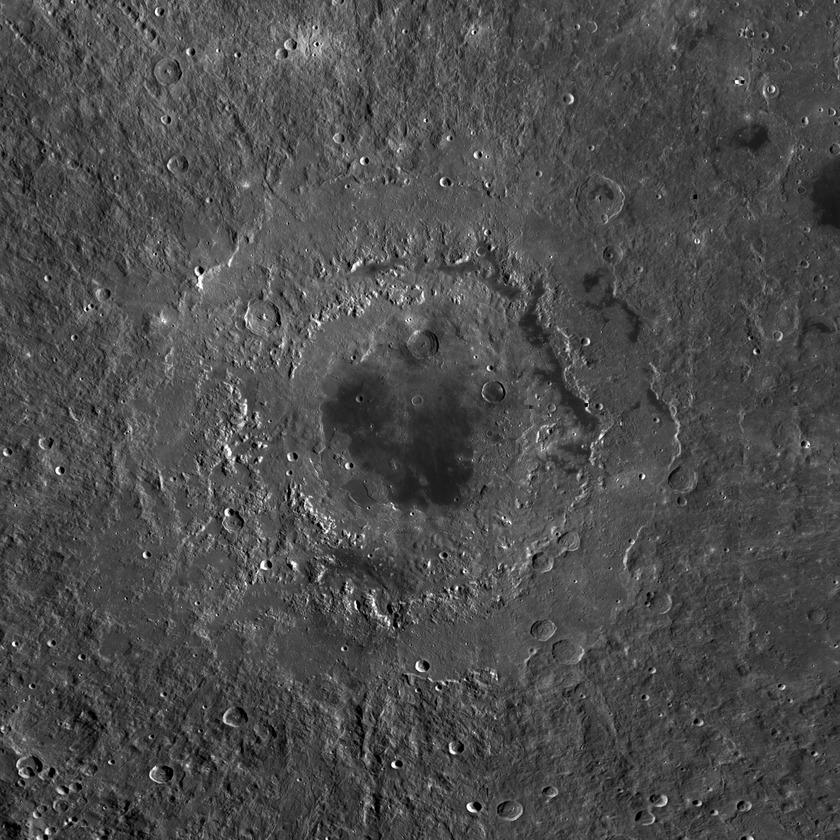Orientale Basin on the Moon