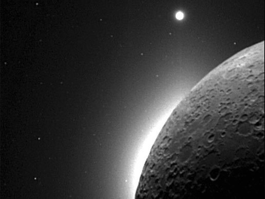 The Moon, the Sun, and Venus