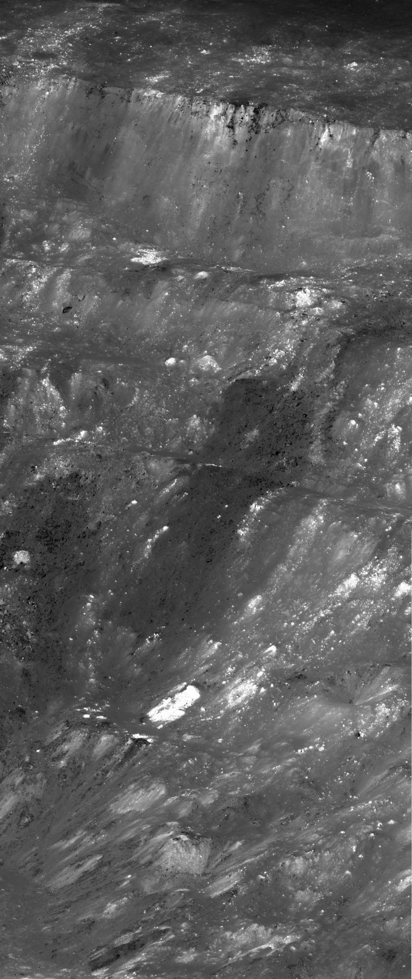 Aristarchus Crater Wall