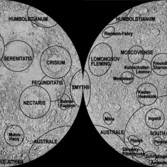 The Moon's major impact basins