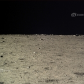 Lunar landscape from Chang'e 3, December 17, 2013