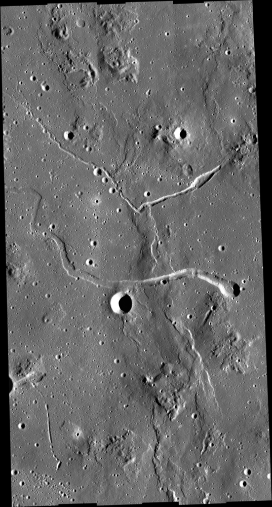 LROC NAC mosaic of the Marius Hills region