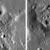 Small shields in the Marius Hills region