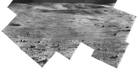 Surveyor 7 panorama