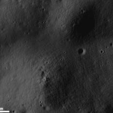 'Elephant skin' texture in the lunar soil