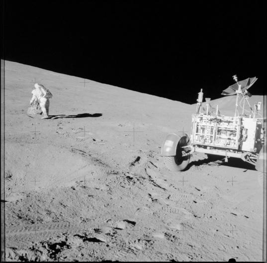 Apollo 15 EVA
