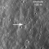 Luna 20 lander on the Moon