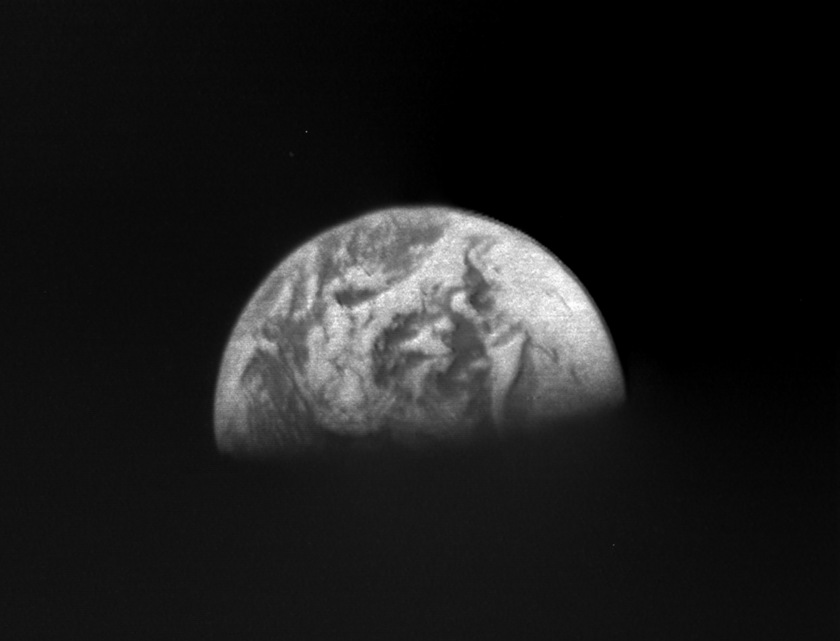 Earth from Surveyor 7