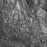Necho crater detail: albedo pattern on wall (contrast enhanced)