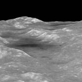 Oblique view of the Orientale basin
