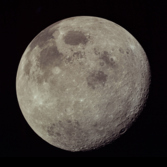Apollo 17's departing view of the Moon