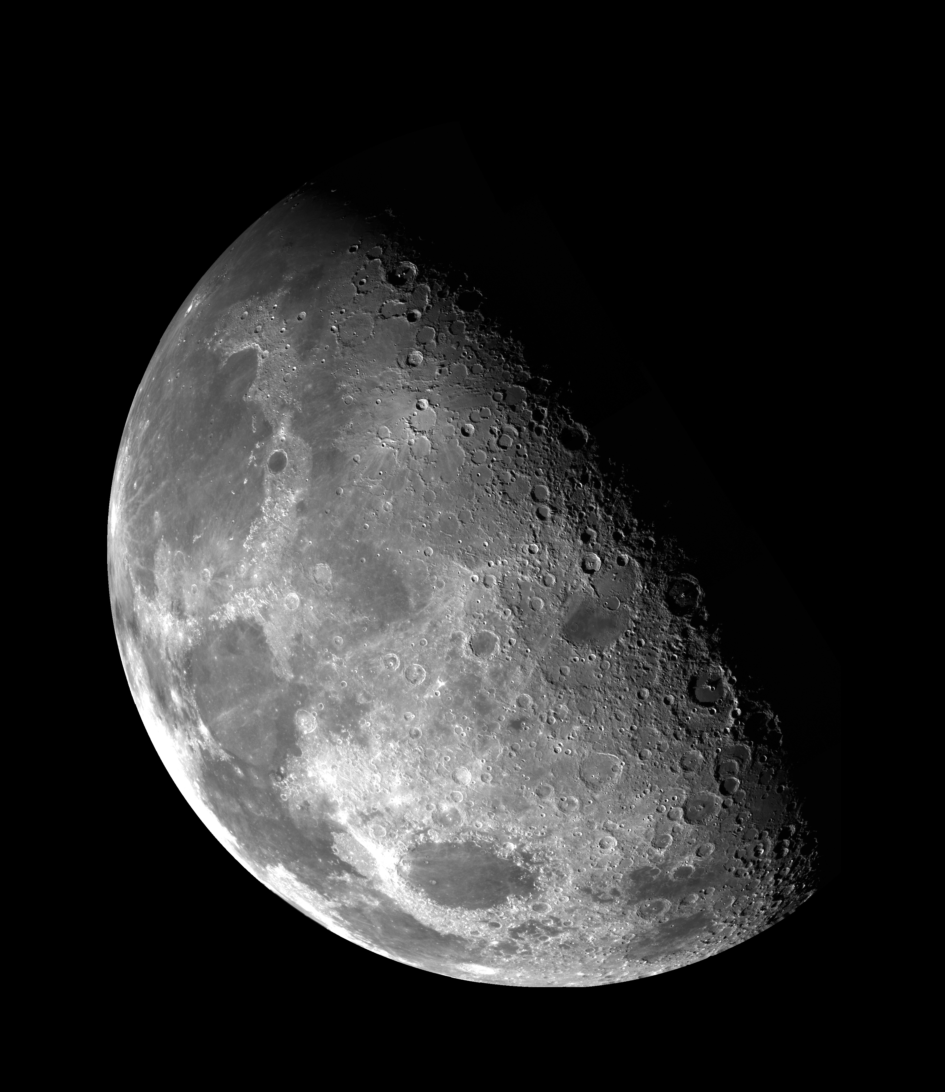 the north pole of the moon from galileo the planetary society