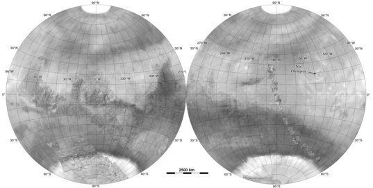 Mars as it was known after the Mariner 7 flyby