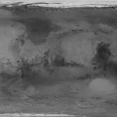 Viking Orbiter map of Mars (1975)