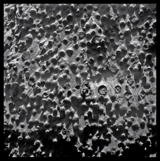 Opportunity Microscopic Imager mosaic, sol 3064: spherules